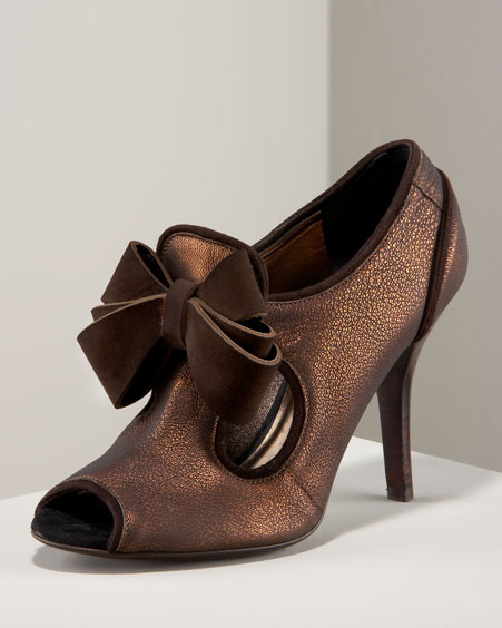Fashion Accessories - Peep Show Bootie from neimanmarcus.com