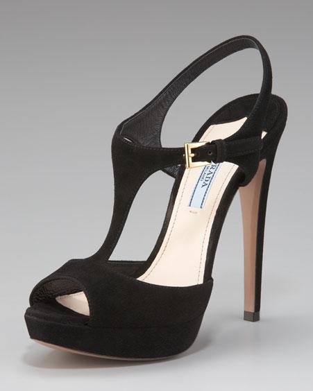 prada女士鞋子图片