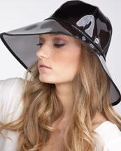 Juicy Couture Sheer Floppy Rain Hat