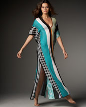 Missoni Canton Long Striped Caftan
