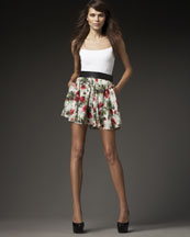 Elizabeth and James Taylor Floral Skirt