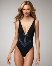 Yves Saint Laurent Anchor One-Piece