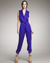 Rachel Zoe Shawl Collar Jumpsuit