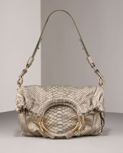 Escada Python Convertible Hobo, Small from neimanmarcus.com