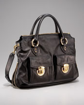 Marc Jacobs Carla Double-Pocket Tote