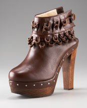 3.1 Phillip Lim Tom Tom Knotted Clog Bootie