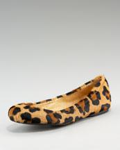Stuart Weitzman & Company Leopard Ballet Flat