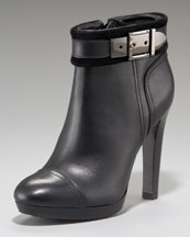 Tory Burch Belinda Buckle Ankle Bootie