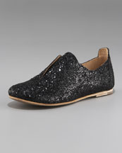 Pedro Garcia Glitter Slip-On Oxford
