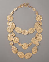 Oscar de la Renta Russian Tiered Necklace