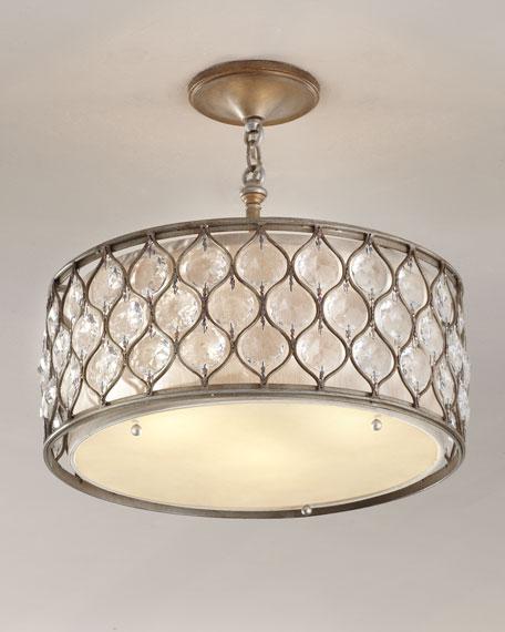 Lucia ceilingmount chandelier