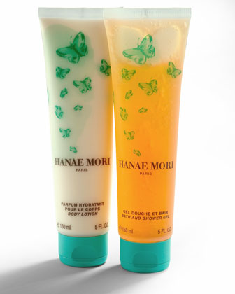 Hanae Mori Body Lotion & Bath & Shower Gel