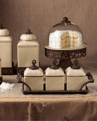 Canisters & Cake Dome