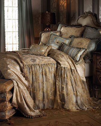 Sweet Dreams Crystal Palace Bed Linens, King