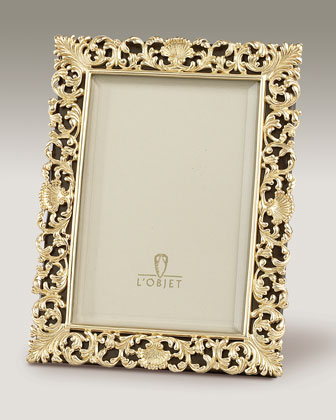 L'Objet Gold-Plated Antique Key Frame