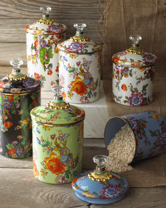 Flower Market Canisters