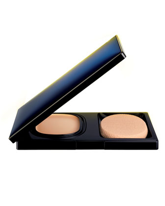 Cream Compact Foundation Set