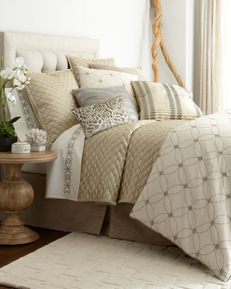 luxurious bed linens neiman marcus luxurious. Black Bedroom Furniture Sets. Home Design Ideas