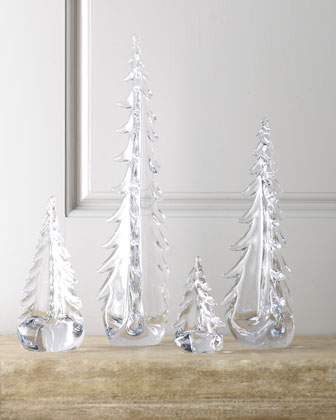 Evergreen Glass Trees