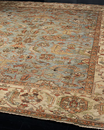 Exquisite Rugs Seaside Oushak Rug
