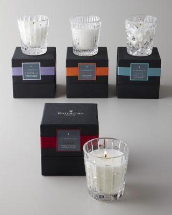 Crystal Crystal Filled Candles
