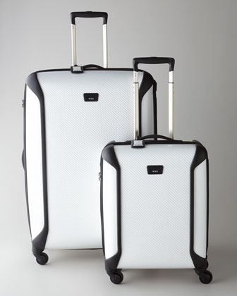 Tegra Lite White Luggage Collection