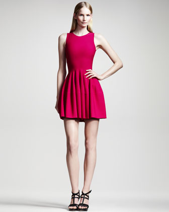 Sleeveless Knit Dress