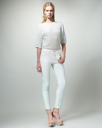 Slim Degrade Jeans, Mist