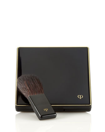 Cheek Color Duo Case and Brush