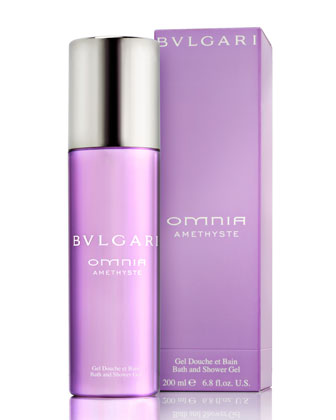 Omnia Amethyste Bath & Shower Gel