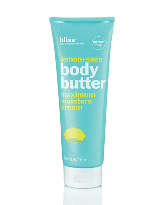 lemon & sage body butter, 6.7 oz.