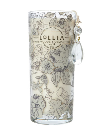 In Love Perfumed Luminary, White Woods & Osmanthus