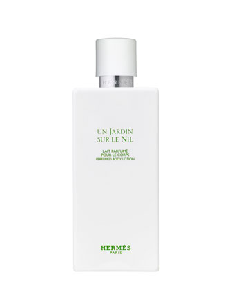 Herm??s Un Jardin sur le Nil ?? Perfumed body lotion, 6.5 oz ...