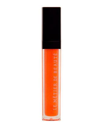 Limited-Edition Sheer Brilliance Lip Gloss, Orange Juiced
