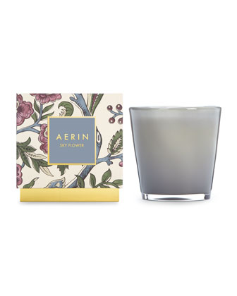 AERIN Sky Flower Candle