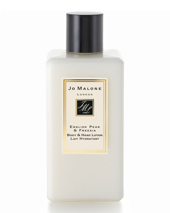 English Pear & Freesia Body and Hand Lotion