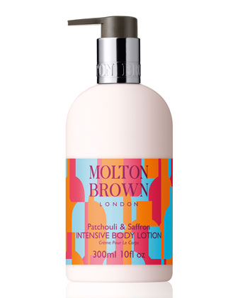 Patchouli & Saffron Body Lotion