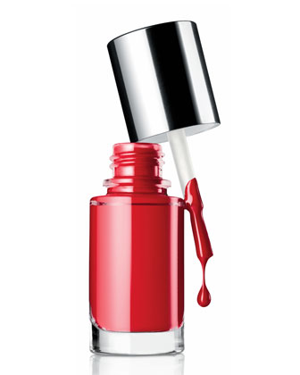 Nail Enamel, Party Red