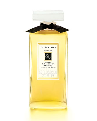 Lime Basil & Mandarin Bath Oil, 6.8 oz.