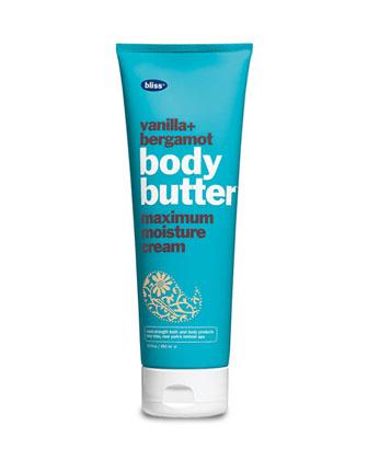 vanilla & bergamot body butter