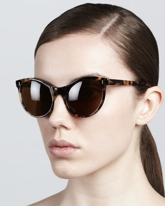 Clarie Cat-Eye Sunglasses