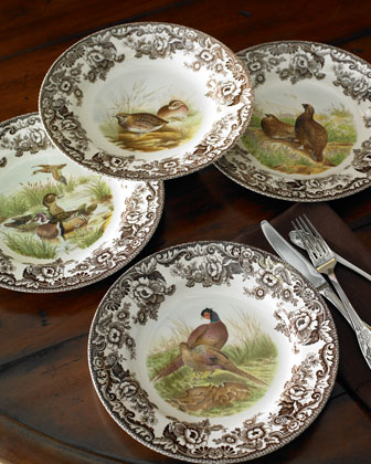 Woodland Bird Dinnerware