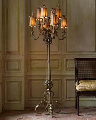 Venetian-Style Floor Lamp