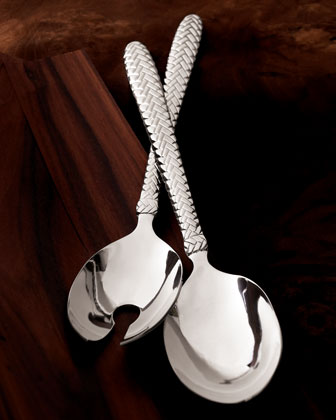 Two-Piece Equestrian Braid Salad Set