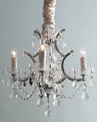 Four-Light Maria Theresa Chandelier