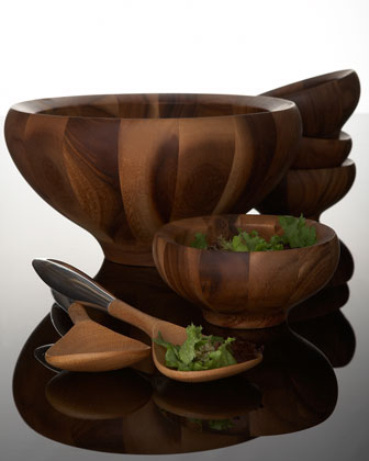 Yaro Salad Bowl & Servers
