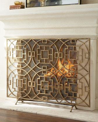 Pyra Fireplace Screen