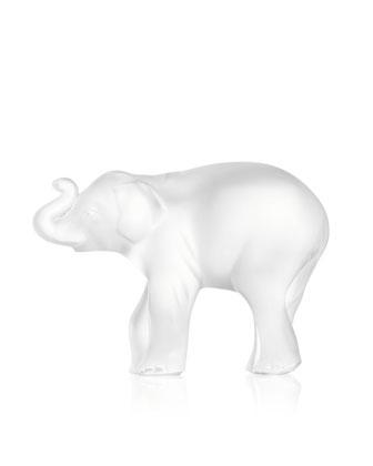 Elephant Figurine, Trunk Up