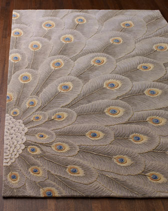 Peacock Bursts Rug
