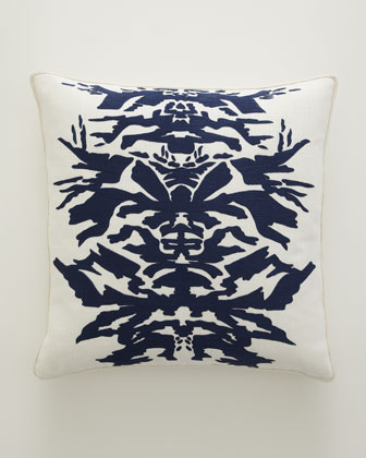 Navy & White Pillows